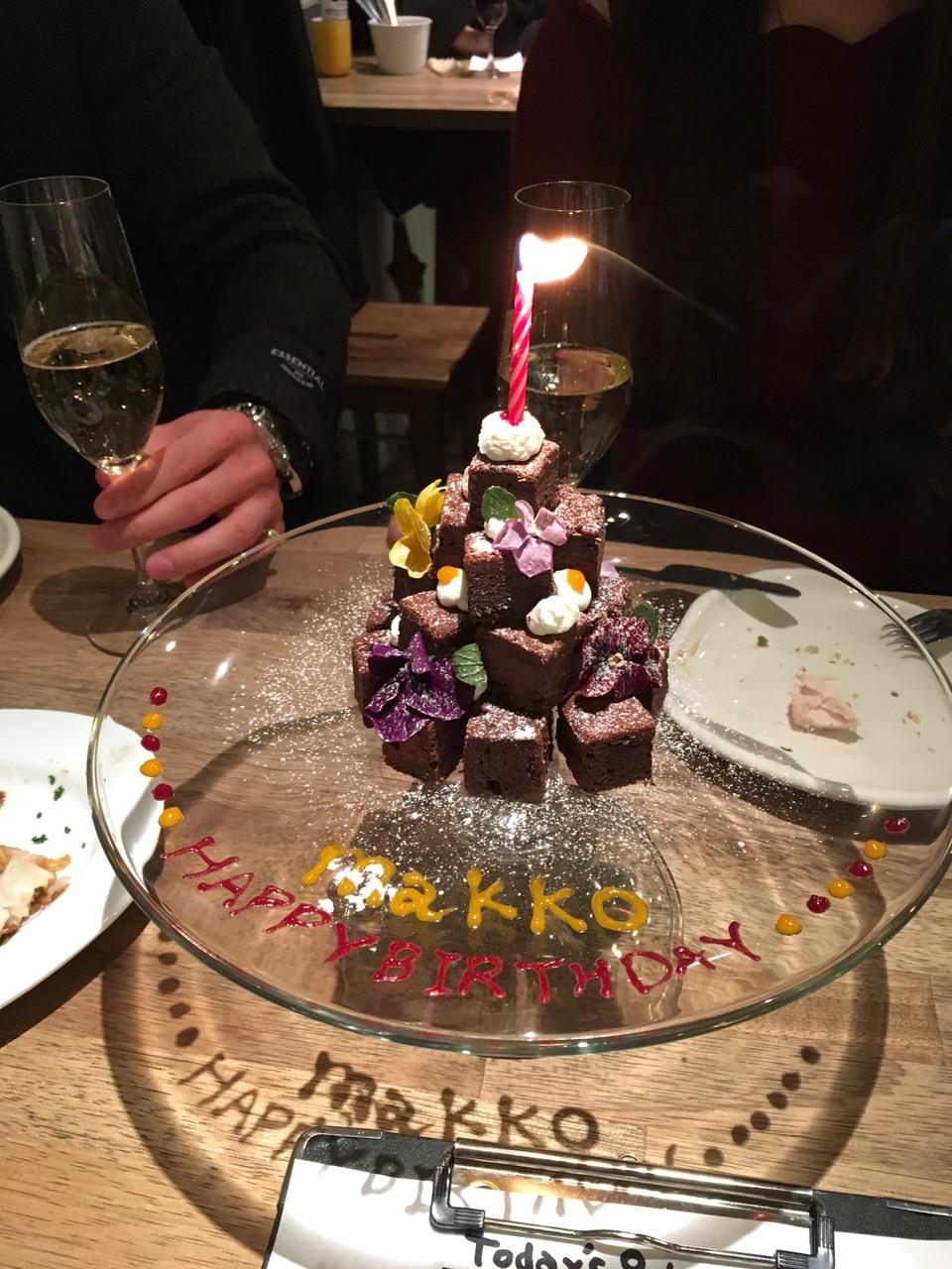 リゾバ仲間と誕生日パーティー