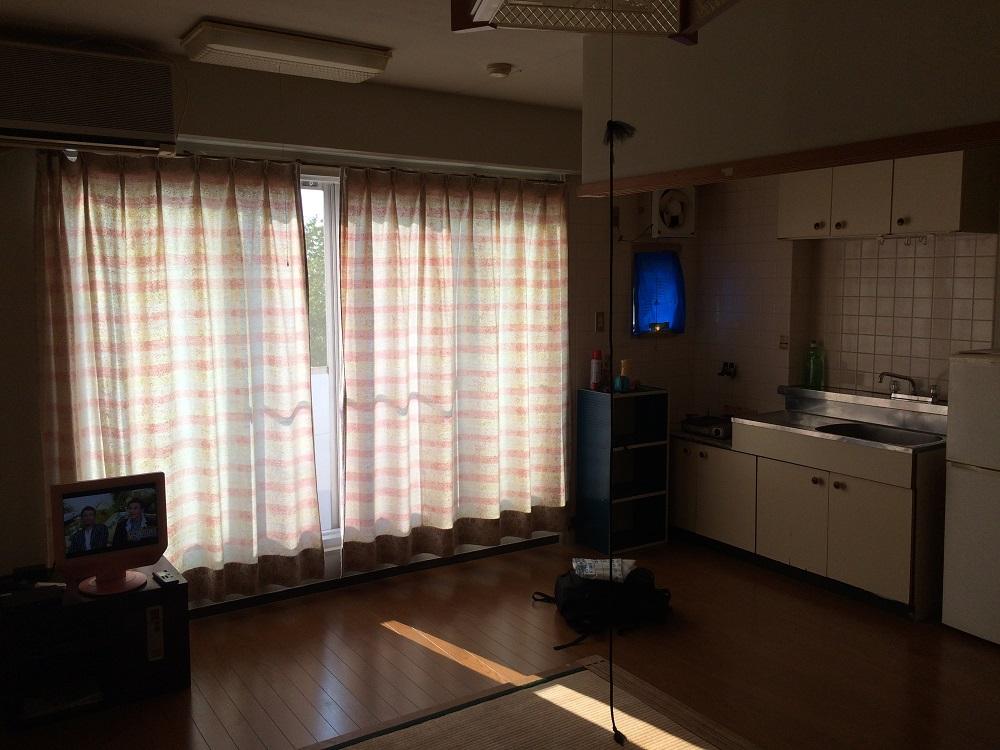 リゾートバイトのキレイな部屋