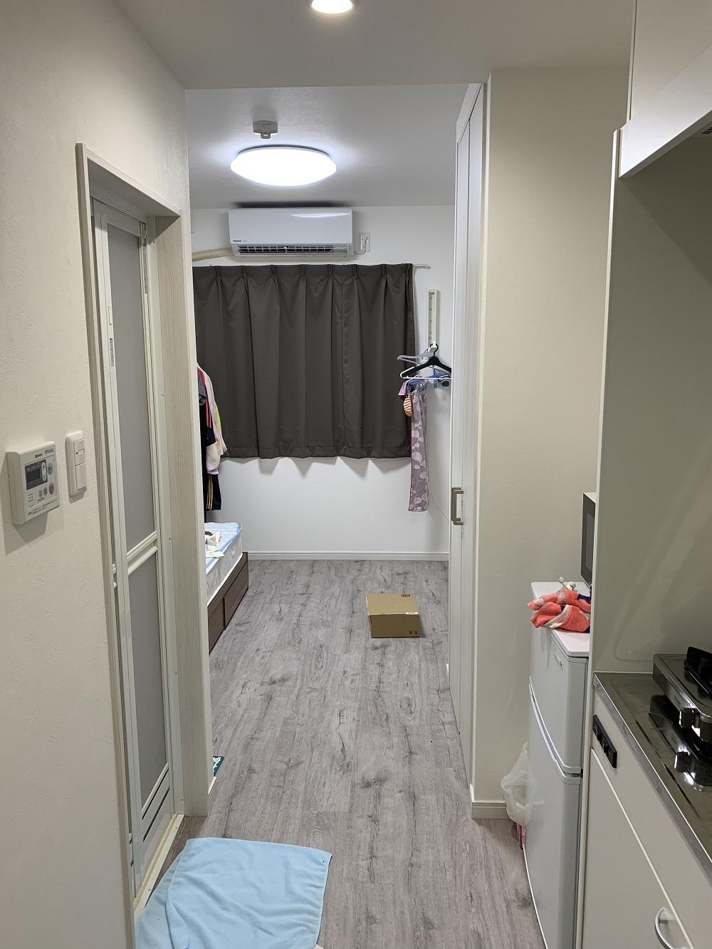 リゾートバイトの新築寮