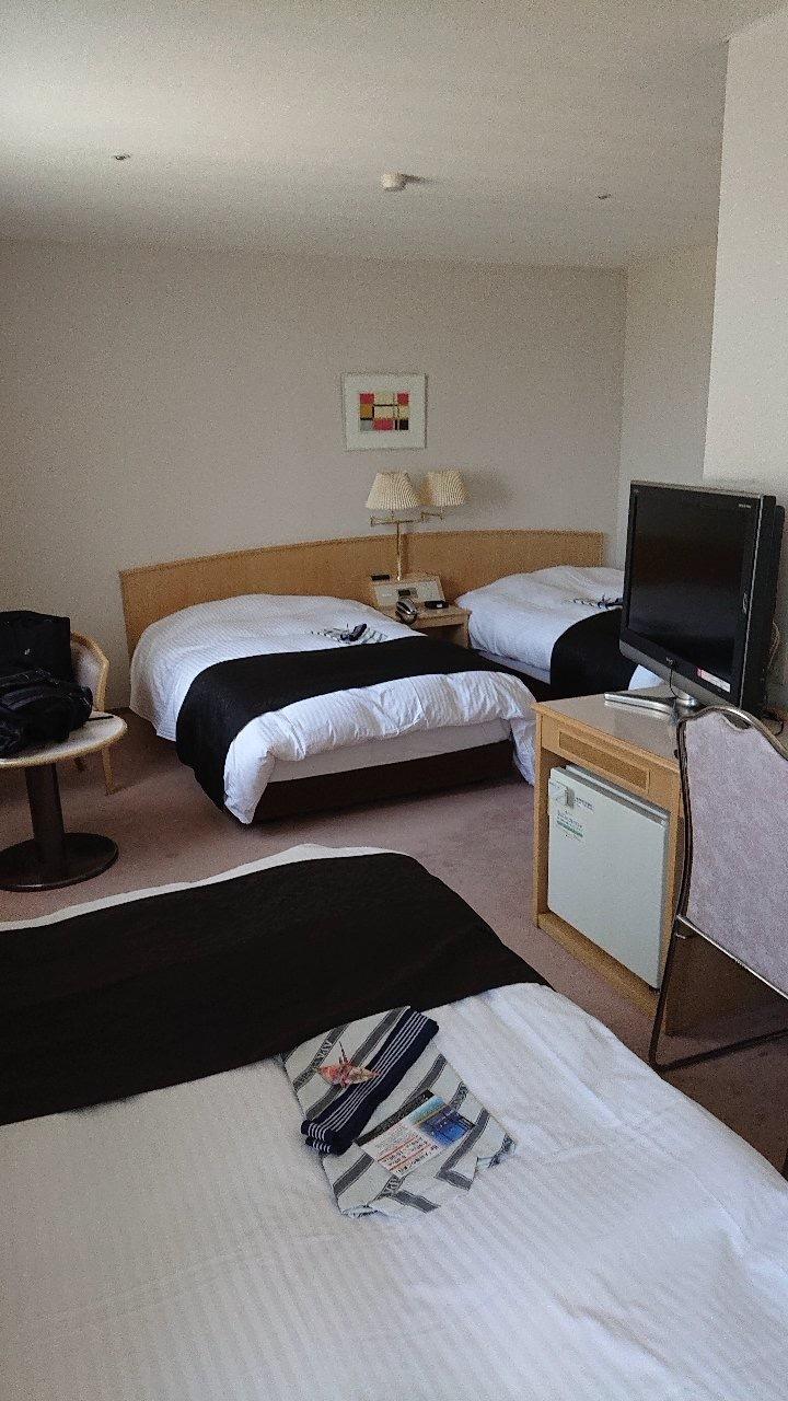 リゾートバイト中に住んだホテルの一室