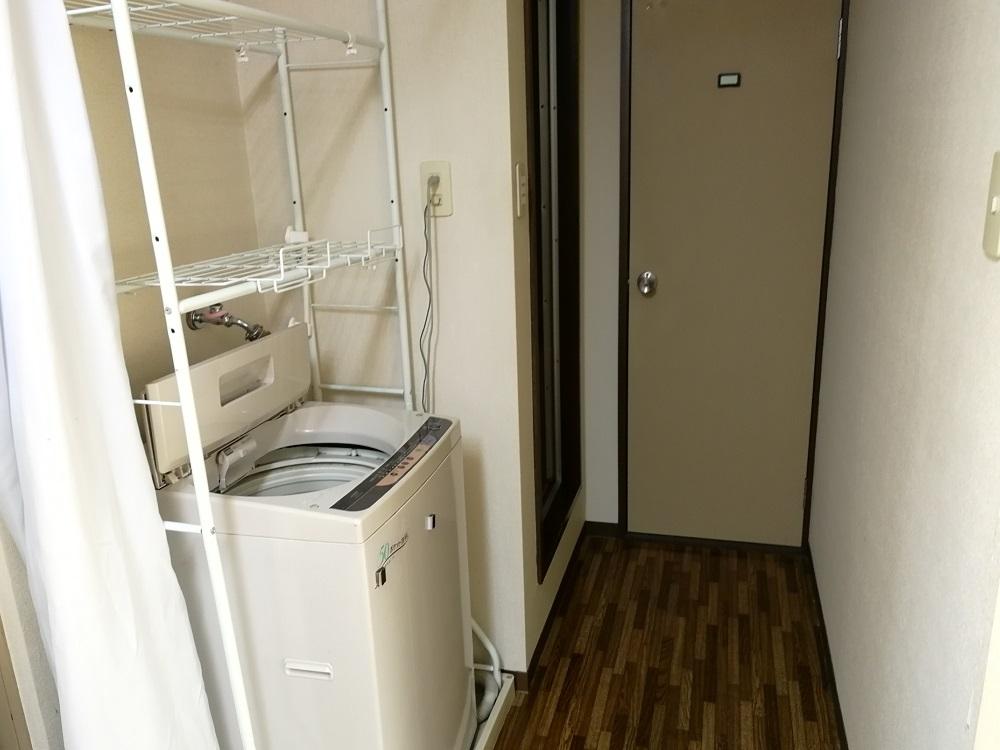 リゾートバイト寮の洗濯機