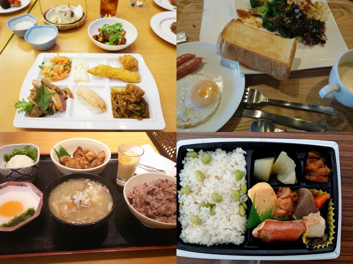 リゾートバイト中の食事