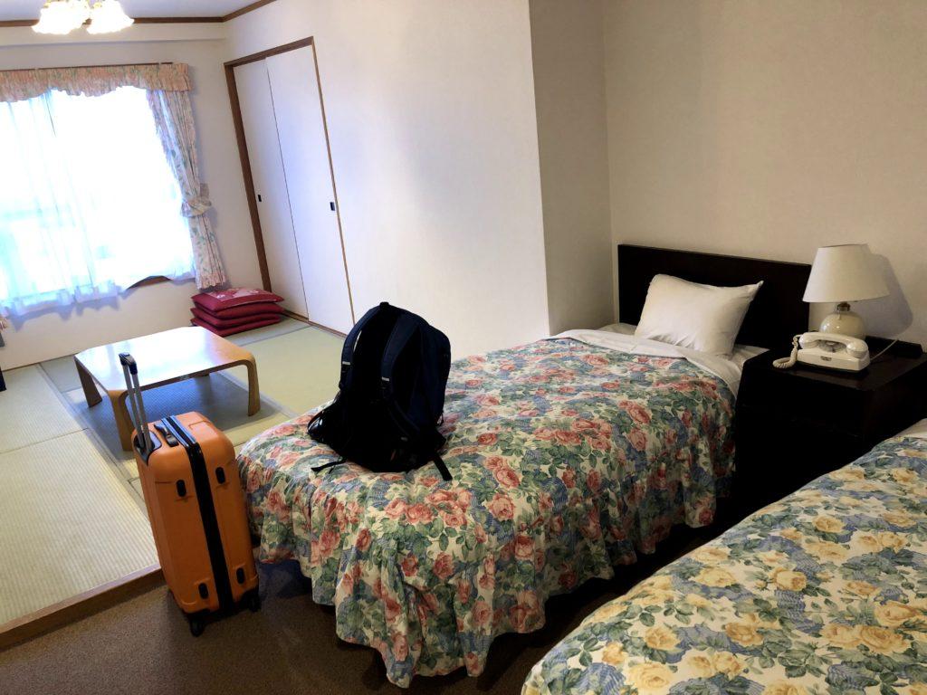 リゾートホテルの館内寮